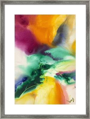 Cotton Candy #1 Framed Print by Jonas Gerard