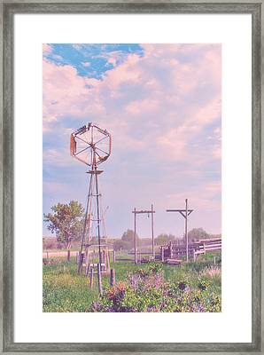 Cotton Candy Farm Framed Print by Starlux  Productions