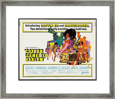 Cotton Comes To Harlem Poster Framed Print by Gianfranco Weiss