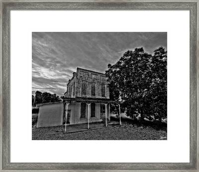 Cotton Office Framed Print