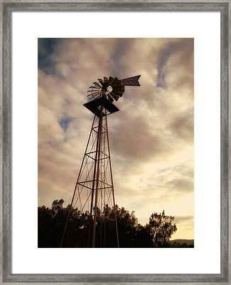 Cotton Skies Framed Print by Glenn McCarthy Art and Photography