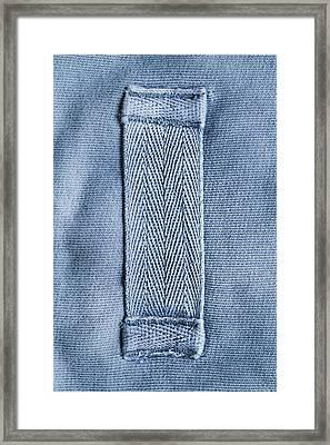Cotton Strap Framed Print by Tom Gowanlock