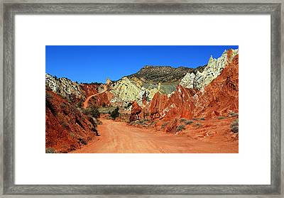 Cottonwood Canyon Road IIi Framed Print by Daniel Woodrum
