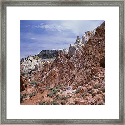 Cottonwood Spires 1-sq Framed Print
