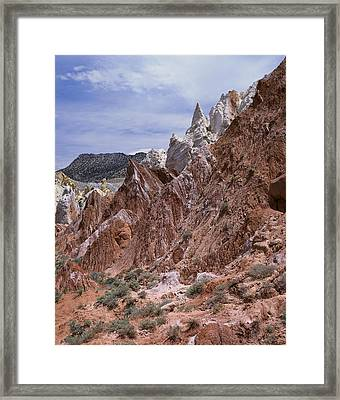 Cottonwood Spires 1-v Framed Print