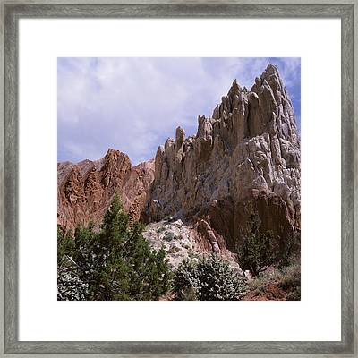 Cottonwood Spires 2-sq Framed Print