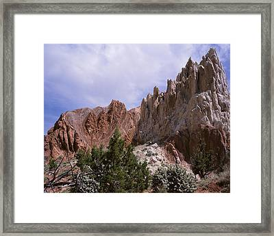 Cottonwood Spires 2 Framed Print