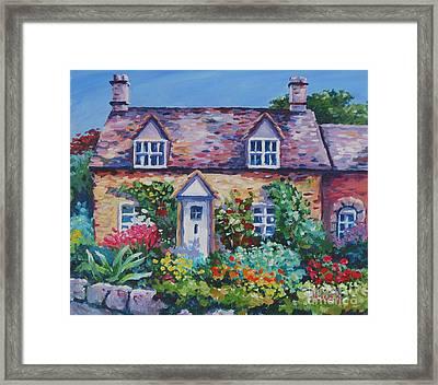 Cotswold Cottage Framed Print by John Clark