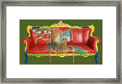 Couch Phoenix Framed Print