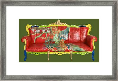 Couch Phoenix Framed Print by Darlene Graeser