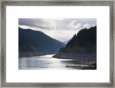 Framed Print featuring the photograph Cougar Reservoir by Belinda Greb