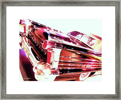 Framed Print featuring the photograph Could You Add Some More Chrome by Don Struke