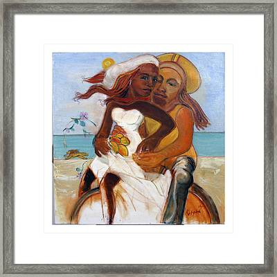 Could You Be Loved? Framed Print by Kippax Williams