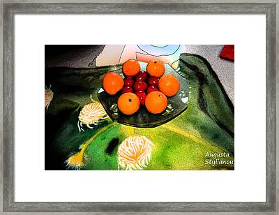 Coulouful Easter Framed Print