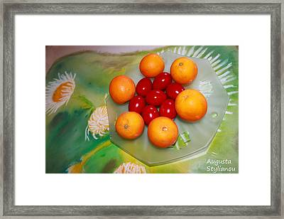 Coulourful Easter Framed Print