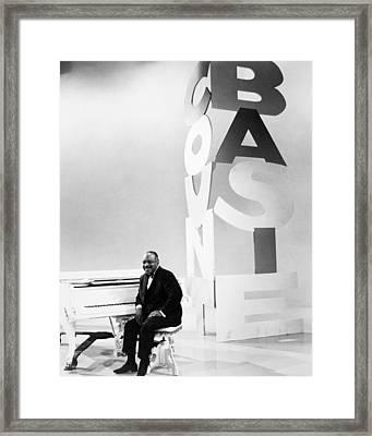 Count Basie (1904-1984) Framed Print by Granger