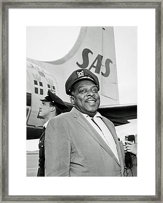 Count Basie 1950s Framed Print by Mountain Dreams