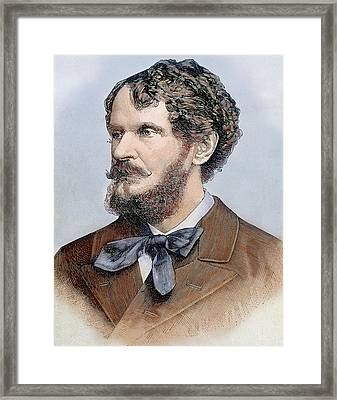 Count Gyula Andrassy (1823-1890 Framed Print by Prisma Archivo