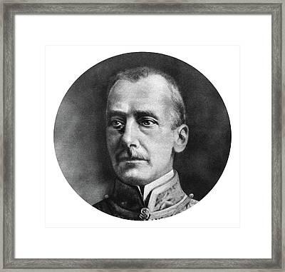 Count Ottokar Von Czernin Framed Print by Granger