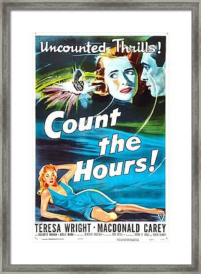 Count The Hours, Us Poster, Top Right Framed Print
