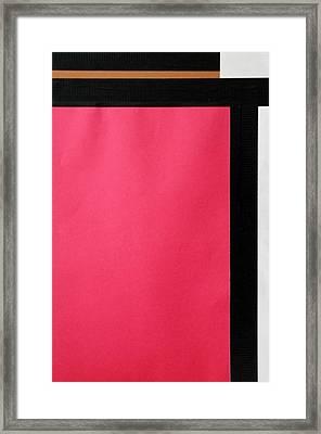 Counter Framed Print by Joseph Rivera