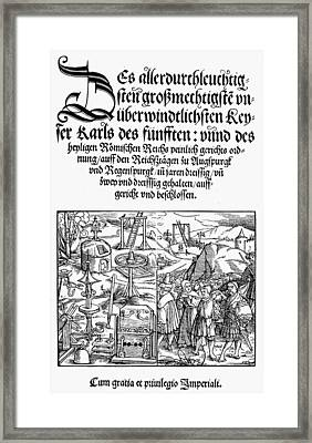 Counter Reformation Framed Print by Granger