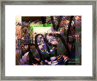 Counterculture Of The 1960s Framed Print by Elizabeth McTaggart