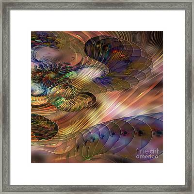 Counterpoint - Square Version Framed Print by John Robert Beck