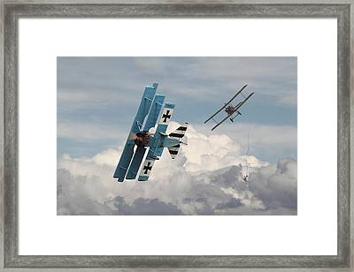 Counterstrike Framed Print by Pat Speirs