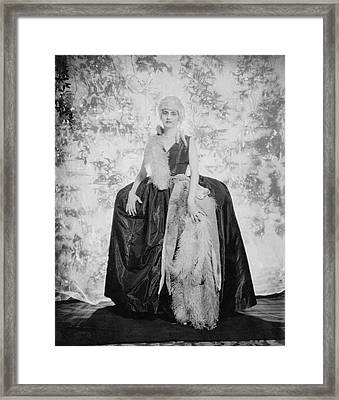 Countess Alfonso Villa As The Duchess Framed Print