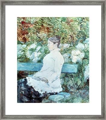 Countess Lautrec Framed Print by Henri de Toulouse-Lautrec