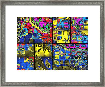 Counting Colors Framed Print by Wendy J St Christopher