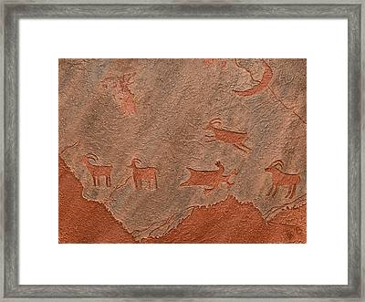 Counting Sheep Framed Print by Katie Fitzgerald