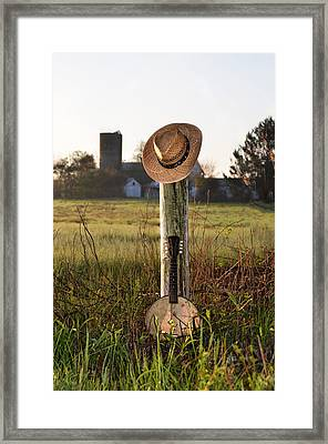 Countrified Morning Framed Print