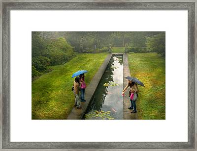 Country - A Day Out With The Girls Framed Print by Mike Savad