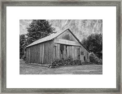 Country Barn Framed Print by Kim Hojnacki