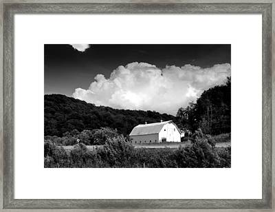 Country Barn Framed Print by Shane Holsclaw