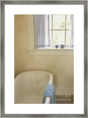 Country Bath Framed Print by Margie Hurwich