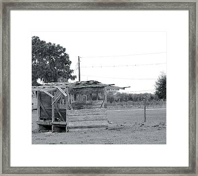 Country Blues Framed Print by Santiago Rodriguez