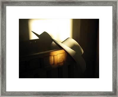 Country Boy Sunrise Framed Print by John Glass