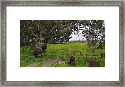 Country Bridge Framed Print