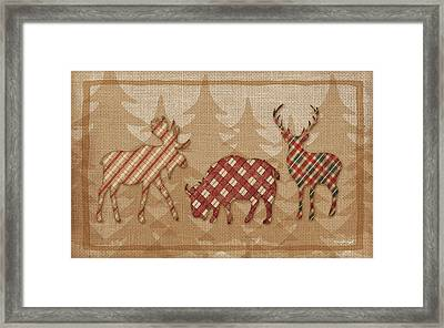 Country Cabin Framed Print by Jennifer Pugh