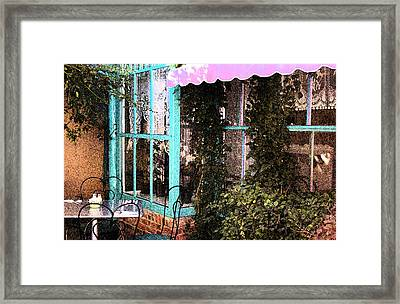 Country Cafe Framed Print