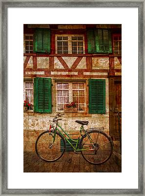 Country Charm Framed Print by Debra and Dave Vanderlaan