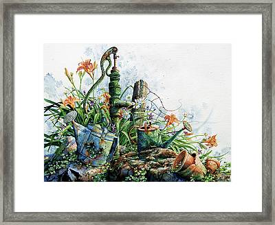 Country Charm Framed Print by Hanne Lore Koehler