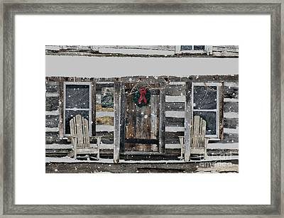 Country Christmas Framed Print by Benanne Stiens