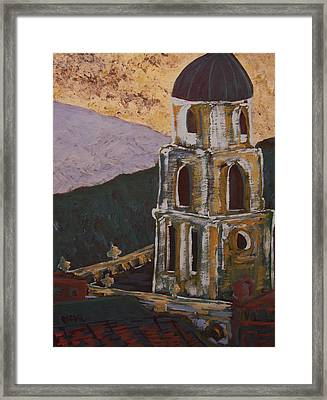 Country Church II Framed Print by Oscar Penalber