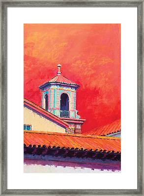 Country Club Plaza Framed Print by Beverly Amundson
