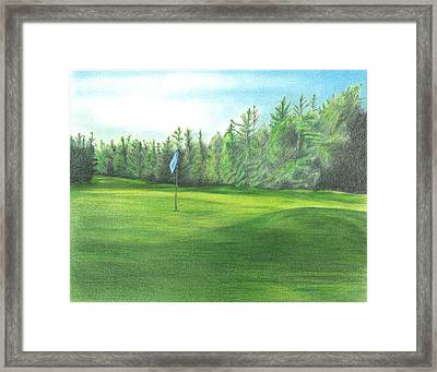 Country Club Framed Print by Troy Levesque