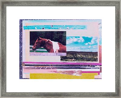 Country Collage 5 Framed Print